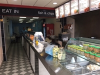 fish chip takeaway with - 2
