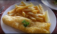 busy fish chips shop - 1